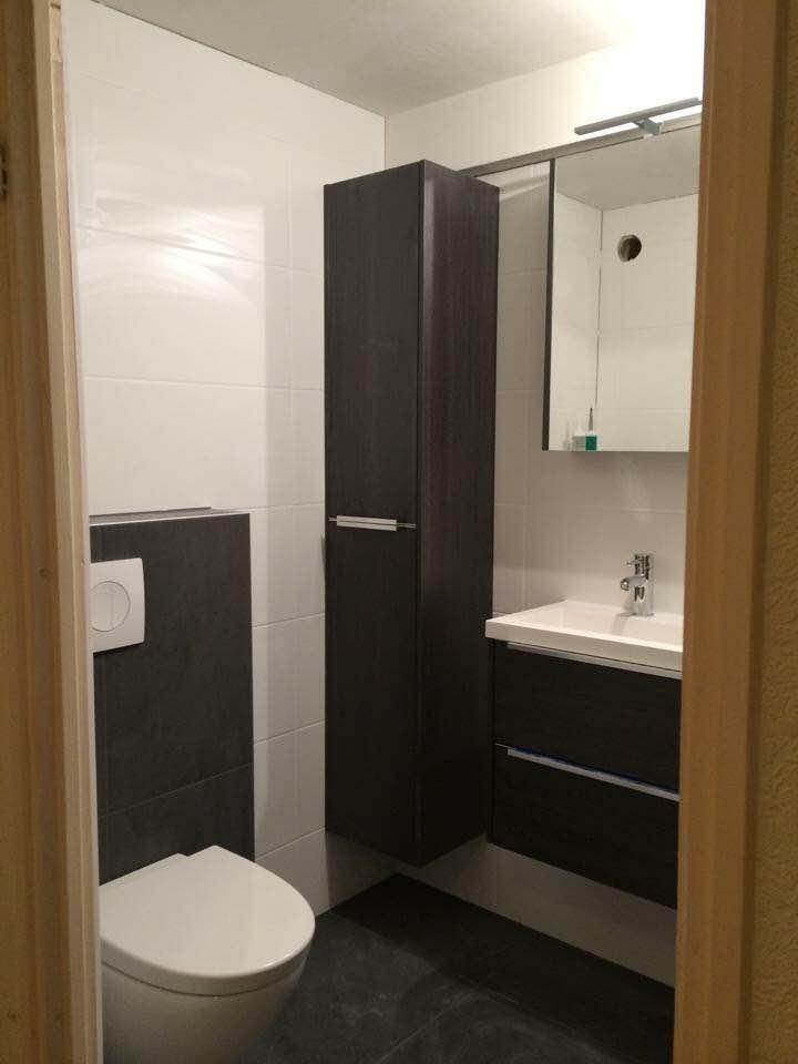 Badkamer Zevenaar (Zwart/wit)